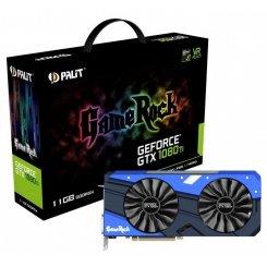 Фото Видеокарта Palit GeForce GTX 1080 Ti GameRock Premium Edition 11264MB (NEB108TH15LC-1020G)