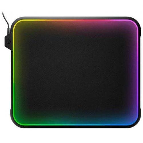 Фото Коврик для мышки SteelSeries QcK Prism (63391) Black