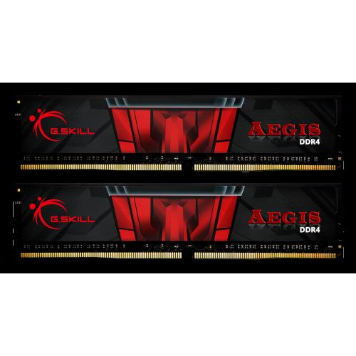 Фото ОЗУ G.Skill DDR4 16GB (2x8GB) 3000Mhz Aegis (F4-3000C16D-16GISB)