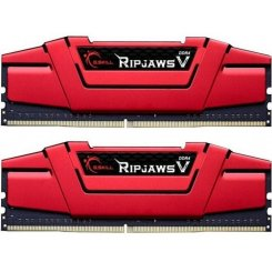 Фото ОЗУ G.Skill DDR4 16GB (2x8GB) 3000Mhz Ripjaws V Red (F4-3000C15D-16GVRB)