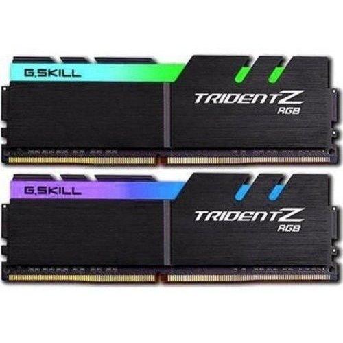 Фото ОЗУ G.Skill DDR4 16GB (2x8GB) 3200Mhz Trident Z RGB (F4-3200C16D-16GTZR)