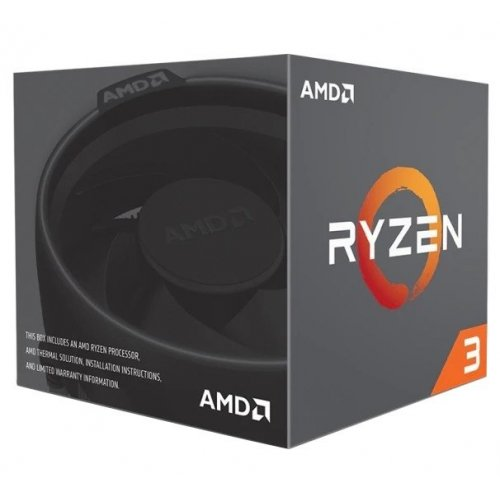 Фото Процессор AMD Ryzen 3 1200 3.1(3.4)GHz sAM4 Box (YD1200BBAEBOX)