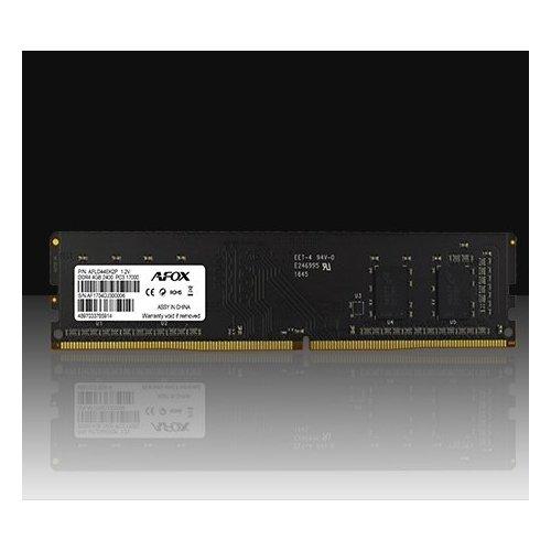 Фото ОЗУ AFOX DDR4 4GB 2400Mhz (AFLD44EK2P)
