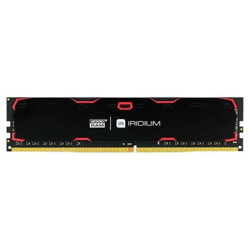 Фото ОЗУ GoodRAM DDR4 8GB 2400Mhz IRDM Black (IR-2400D464L15S/8G)
