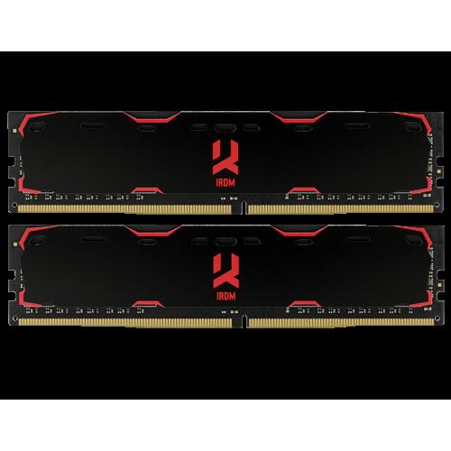 Фото ОЗУ GoodRAM DDR4 8GB (2x4GB) 2400Mhz IRDM Black (IR-2400D464L15S/8GDC)