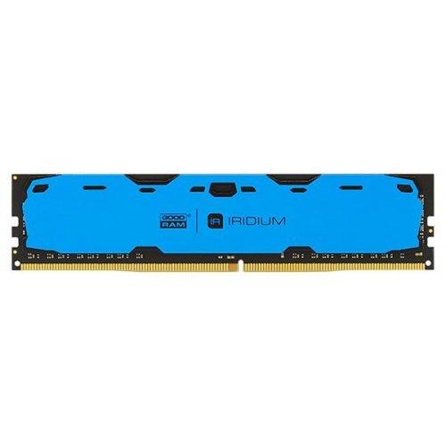 Фото ОЗУ GoodRAM DDR4 8GB 2400Mhz IRDM Blue (IR-B2400D464L15S/8G)