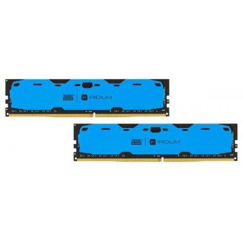 Фото ОЗУ GoodRAM DDR4 8GB (2x4GB) 2400Mhz IRDM Blue (IR-B2400D464L15S/8GDC)