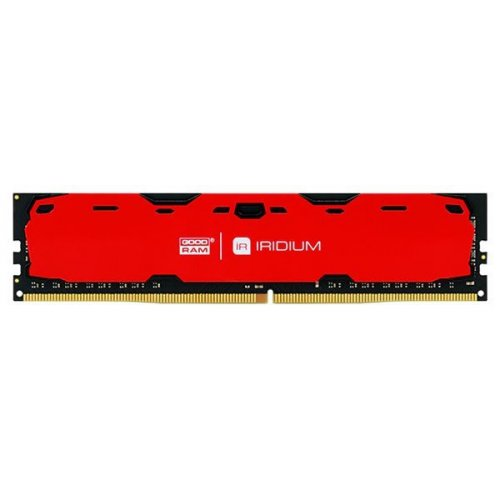 Фото ОЗУ GoodRAM DDR4 4GB 2400Mhz IRDM Red (IR-R2400D464L15S/4G)