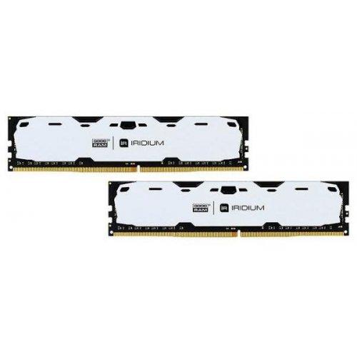 Фото ОЗУ GoodRAM DDR4 16GB (2x8GB) 2400Mhz IRDM White (IR-W2400D464L15S/16GDC)
