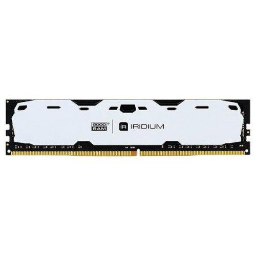 Фото ОЗУ GoodRAM DDR4 4GB 2400Mhz IRDM White (IR-W2400D464L15S/4G)