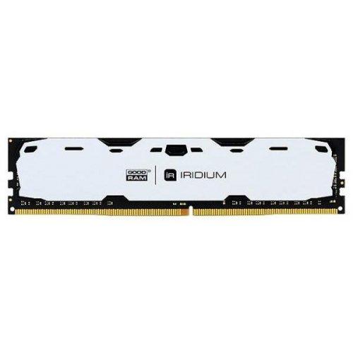 Фото ОЗУ GoodRAM DDR4 8GB 2400Mhz IRDM White (IR-W2400D464L15S/8G)