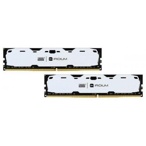 Фото ОЗУ GoodRAM DDR4 8GB (2x4GB) 2400Mhz IRDM White (IR-W2400D464L15S/8GDC)