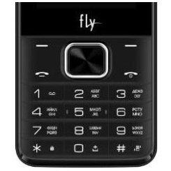 Фото Мобильный телефон Fly FF245 Dark Grey