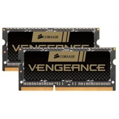 Фото ОЗУ Corsair SODIMM DDR3 16GB (2x8GB) 1600Mhz Vengeance High Performance Laptop (CMSX16GX3M2A1600C10)