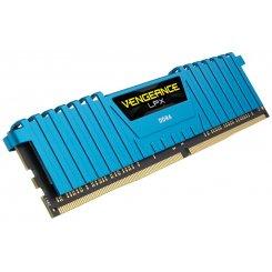 Фото ОЗУ Corsair DDR4 16GB (4x4GB) 2133Mhz Vengeance LPX Blue (CMK16GX4M4A2133C13B)