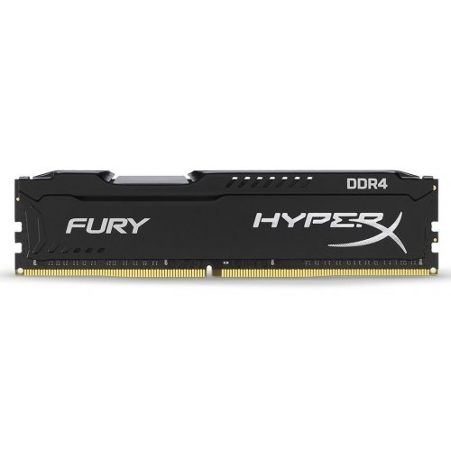 Фото ОЗУ Kingston DDR4 64GB (4x16GB) 2666Mhz HyperX Fury Black (HX426C16FBK4/64)