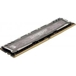 Фото ОЗУ Crucial DDR4 8GB 2400Mhz Ballistix Sport LT Gray (BLS8G4D240FSBK)