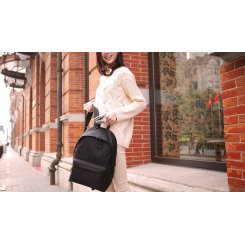 Фото Рюкзак Xiaomi Simple College Wind Shoulder Bag Black