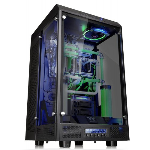 Фото Корпус Thermaltake The Tower 900 E-ATX Vertical Super без БП (CA-1H1-00F1WN-00) Black