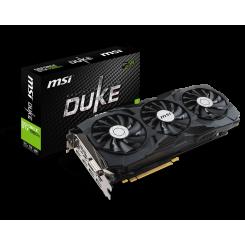 Фото Видеокарта MSI GeForce GTX 1080 Ti DUKE OC 11264MB (GTX 1080 TI DUKE 11G OC)