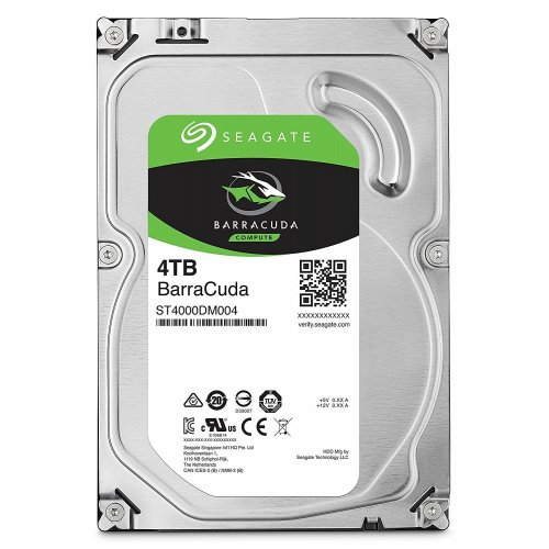 Фото Seagate BarraCuda 4TB 256MB 5400RPM 3.5'' (ST4000DM004)