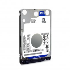 Фото Жесткий диск Western Digital Blue 1TB 128MB 5400RPM 2.5'' (WD10SPZX)