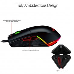 Фото Мышка Asus ROG Pugio USB Optical Gaming Mouse