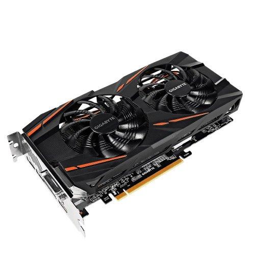 Фото Видеокарта Gigabyte Radeon RX 570 Gaming 4096MB (GV-RX570GAMING-4GD-MI) OEM