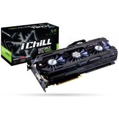 Фото Видеокарта Inno3D Geforce GTX 1080 TI Ichill HerculeZ X4 11264MB (C108T4C-1SDN-Q6MNX)