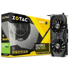 Фото Видеокарта Zotac Geforce GTX 1080 TI AMP Edition 11264MB (ZT-P10810D-10P)