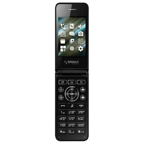 Фото Мобильный телефон Sigma mobile X-Style 28 Flip Black