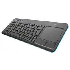 Фото Клавиатура Trust Veza Wireless Touchpad Ru (21469) Black