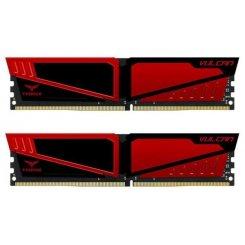 Фото ОЗУ Team DDR4 32GB (2x16GB) 2400Mhz T-Force Vulcan Red (TLRED432G2400HC15BDC01)