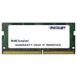 Фото ОЗУ Patriot SODIMM DDR4 4GB 2400Mhz (PSD44G240081S)