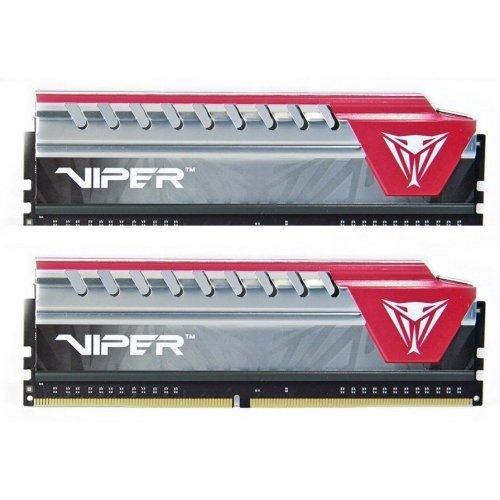 Фото Patriot DDR4 16GB (2x8GB) 2400Mhz Viper Elite Red (PVE416G240C5KRD)
