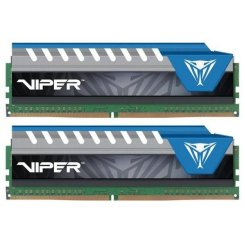 Фото ОЗУ Patriot DDR4 32GB (2x16GB) 2666Mhz Viper Elite Blue (PVE432G266C6KBL)
