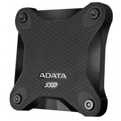 Фото SSD-диск ADATA SD600 Black 256GB USB 3.1 (ASD600-256GU31-CBK)