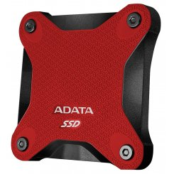 Фото SSD-диск ADATA SD600 Red 256GB USB 3.1 (ASD600-256GU31-CRD)