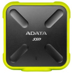 Фото SSD-диск ADATA SD700 Yellow 1TB USB 3.1 (ASD700-1TU3-CYL)