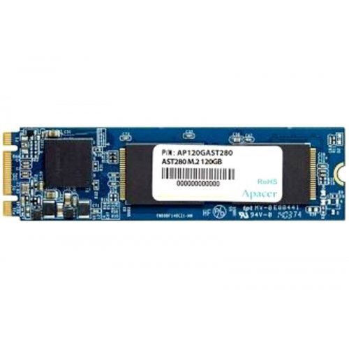 Фото SSD-диск Apacer AST280 TLC 120GB M.2 (2280 SATA) (AP120GAST280-1)