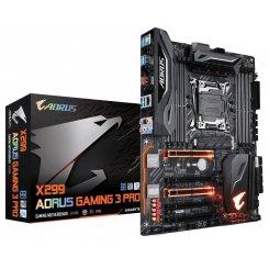Фото Материнская плата Gigabyte X299 AORUS Gaming 3 Pro (s2066, Intel X299)