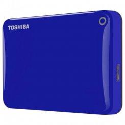 Фото Внешний HDD Toshiba Canvio Connect II 2TB (HDTC820EL3CA) Blue