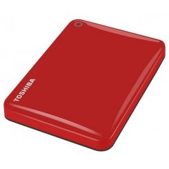 Фото Внешний HDD Toshiba Canvio Connect II 500GB (HDTC805ER3AA) Red