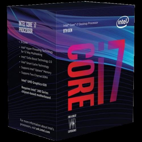 Фото Процесор Intel Core i7-8700 3.2(4.6)GHz 12MB s1151 Box (BX80684I78700)