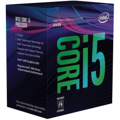 Intel Core i5-8600K 3.6(4.3)GHz 9MB s1151 Box (BX80684I58600K)