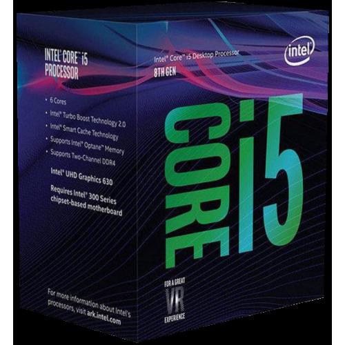 Фото Процесор Intel Core i5-8600K 3.6(4.3)GHz 9MB s1151 Box (BX80684I58600K)