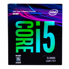 Intel Core i5-8400 2.8(4.0)GHz 9MB s1151 Box (BX80684I58400)