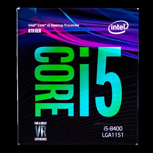 Фото Процесор Intel Core i5-8400 2.8(4.0)GHz 9MB s1151 Box (BX80684I58400)