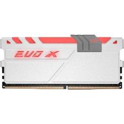 Фото ОЗУ Geil DDR4 16GB (2x8GB) 2400Mhz EVO X White (GEXG416GB3000C15ADC)