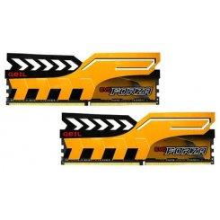 Фото ОЗУ Geil DDR4 8GB (2x4GB) 2400Mhz EVO Forza Racing Yellow (GFY48GB2400C16DC)